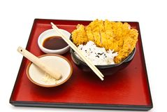 Japanese food style Royalty Free Stock Images