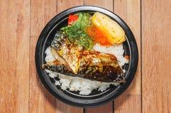 Japanese food style Royalty Free Stock Photos