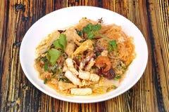 Japanese food,Sukiyaki in semi-dry style as fried mixed vegetabl Royalty Free Stock Photography