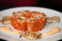 Japanese food. Sushi. Royalty Free Stock Photo