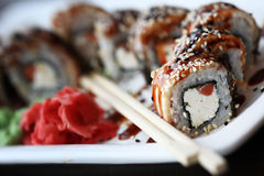 Japanese food is sushi Stock Photo