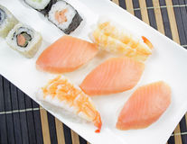 Japanese food - Sushi . Royalty Free Stock Image