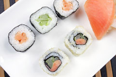 Japanese food - Sushi . Stock Images