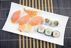 Japanese food - Sushi . Stock Photography