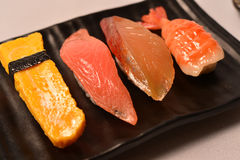 Japanese food sushi Royalty Free Stock Photo
