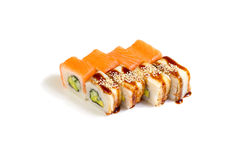 Japanese food. Sushi and rolls Royalty Free Stock Photography