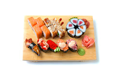 Japanese food. Sushi and rolls Stock Photography