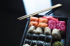 Japanese food - Sushi and Sashimi Stock Images