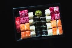 Japanese food - Sushi and Sashimi Royalty Free Stock Image