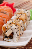 Japanese food - Sushi and Sashimi Stock Image