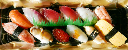 Japanese food Sushi set Stock Images
