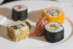 Japanese food - Sushi Stock Image
