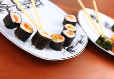 Japanese food, Sushi Royalty Free Stock Images