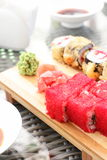 Japanese food - sushi Stock Photography