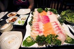 Japanese food, Sushimi Stock Photography