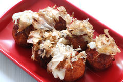 Free Japanese Food, Takoyaki Octupus Ball Royalty Free Stock Photography - 86146817