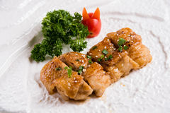 Japanese food, Teriyaki chicken Stock Photo