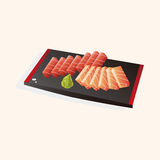 Japanese food theme Sashimi elements vector,eps Stock Photos