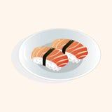 Japanese food theme sushi elements vector,eps Stock Photo