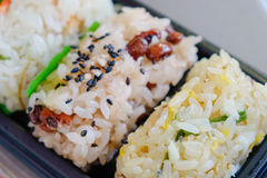 Japanese food in Tokyo, Japan Royalty Free Stock Images