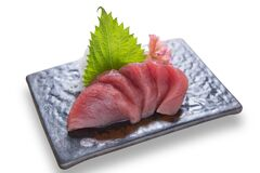 Japanese Food Tuna Sashimi Stock Photography