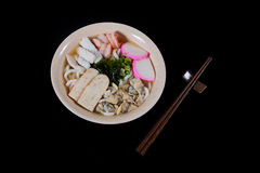 Japanese food udon Stock Images