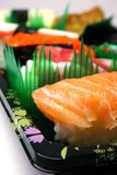 Japanese Foods. Plate of Japanese Foods royalty free stock photos