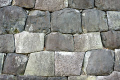 Free Japanese Fortification Wall Detail Royalty Free Stock Images - 18047259
