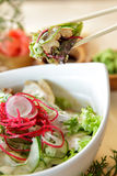 Japanese fresh garden salad Stock Photo