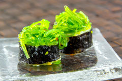 Japanese fresh maki sushi Stock Photography
