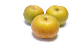 Japanese fresh pear fruit  Royalty Free Stock Photo
