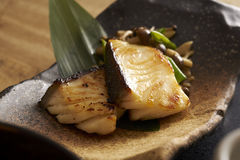 Japanese fried codfish Stock Photos