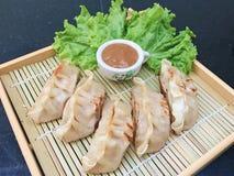 Japanese Fried Dumplings Stock Photos