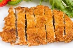 Japanese fried pork Stock Image