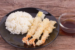 Japanese fried tempura Stock Image