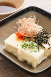 Japanese fried Tofu Stock Image