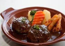 Japanese fusion food Stock Photos