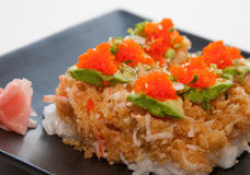 Japanese fusion food Royalty Free Stock Images