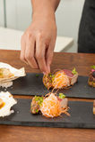 Japanese fusion food Royalty Free Stock Photos