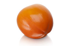 Japanese Fuyu Persimmon Stock Photo