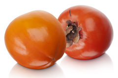 Japanese Fuyu Persimmon Stock Photography