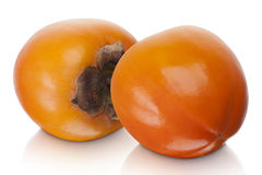 Japanese Fuyu Persimmon Stock Images