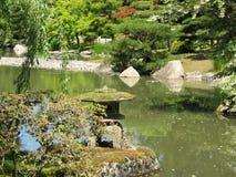 Japanese Garden. Seattle Japanese Garden in Washington Park Arboretum Royalty Free Stock Photo