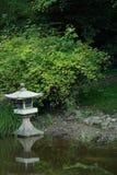 Japanese garden. Beauty- and peaceful japanese garden Stock Photography