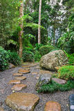 Japanese Garden. Image of a Japanese Garden Landscaping Concept royalty free stock photo