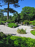 Japanese garden. Part of the Japanese garden at Kew Garden in London, England Royalty Free Stock Photo