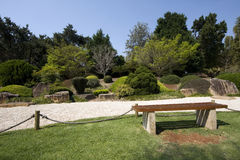 Japanese Garden. Traditional Japanese style garden, can be found at private homes, in neighborhood or city parks Royalty Free Stock Image