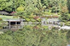 Japanese garden Royalty Free Stock Image