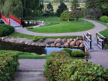 Japanese Garden. In Bloomington, Minnesota Stock Photo