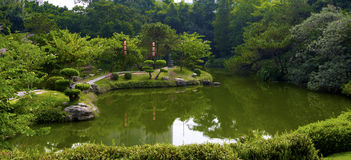 The Japanese garden Royalty Free Stock Photo